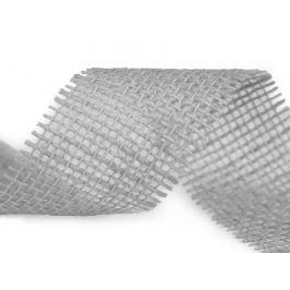 Jutová stuha zväzok po 3 m šírka 55 mm šedá sv 3m