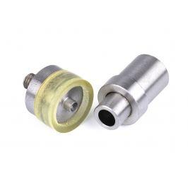 Piston na nitovanie riflových gombíkov s otvorom Ø19 mm nikel 1sada Stoklasa