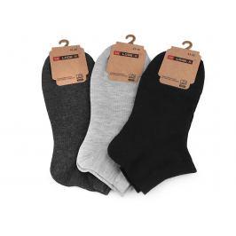 Pánske bavlnené ponožky členkové mix náhodných variant 3pár