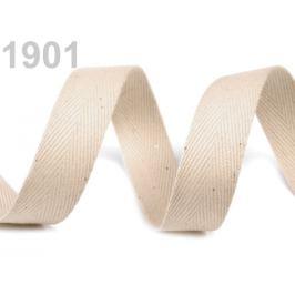 Keprovka - tkaloun  šírka 14 mm béžová sv. 50m