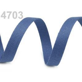 Keprovka - tkaloun  šírka 10 mm modrá nebeská 50m