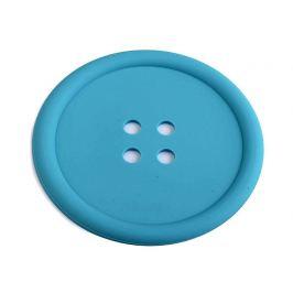 Silikónová podložka gombík Ø9 cm modrá 1ks Stoklasa