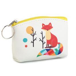 Peňaženka / puzdro sova, mačka, líška 8x11 cm krémová najsvetl 1ks Stoklasa