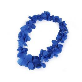 Havajský veniec s kvetmi modrá 1ks Stoklasa