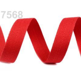 Keprovka - tkaloun šírka 16 mm červená 50m