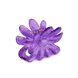 Štipec do vlasov 5x6,5 cm kvet fialová gebera 1ks Stoklasa