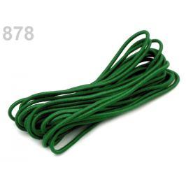Guma guľatá Ø2mm MAGGIE zväzok 3m zelená jedla 1zväzok
