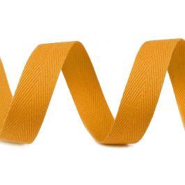 Keprovka - tkaloun  šírka 14 mm oranžová 50m