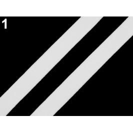Guma plochá / ramienková šírka 9 mm Off White 25m