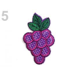 Nažehlovačka ovocie a zelenina fialová gebera 10ks Stoklasa