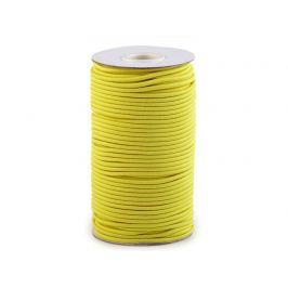 Guma guľatá Ø3mm MAGGIE žltá žiarivá 50m
