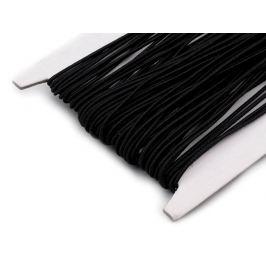 Guľatá guma Ø1mm Black 25m Stoklasa