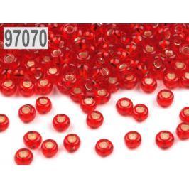 Rokajl Preciosa s prieťahom 8/0 - 3 mm červená 20g