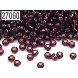 Rokajl Preciosa s prieťahom 8/0 - 3 mm fialová tm. 250g
