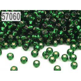 Rokajl Preciosa s prieťahom 8/0 - 3 mm zelená pastelová 2500g