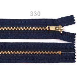 Kovový  /  mosadzný zips šírka 4 mm dĺžka 14 cm nohavicový Eclipse 10ks Stoklasa