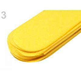 Papierový pompom Ø15 cm žltá narcisová 10ks Stoklasa