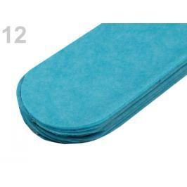Papierový pompom Ø15 cm modrá tyrkys. 10ks Stoklasa