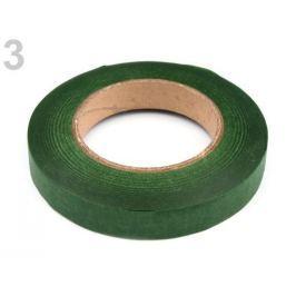 Floristická páska šírka 12 mm zelené papradie 1ks Stoklasa