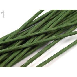 Floristický drôt Ø2,5 mm, dĺžka 40 cm zelené papradie 20ks Stoklasa