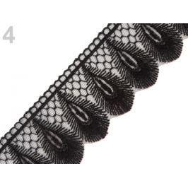 Čipka na tyle šírka 50 mm Black 12.5m Stoklasa