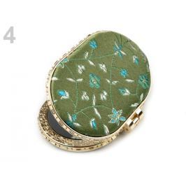 Kozmetické zrkadielko zelenožltá 1ks Stoklasa