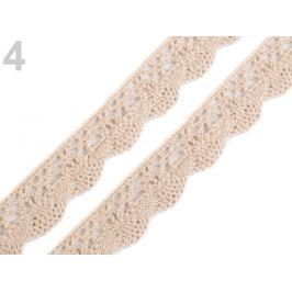 Bavlnená čipka šírka 20 mm paličkovaná Pebble 135m Stoklasa
