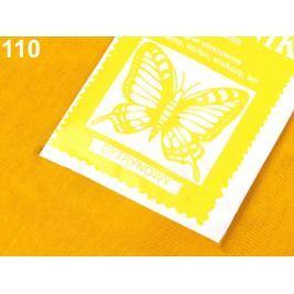 Farba na textil 10 g žĺtková 20ks