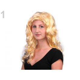 Parochňa dlhé vlasy blond 4ks Stoklasa