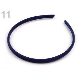Saténová čelenka do vlasov modrá parížska 1ks Stoklasa