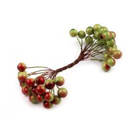 Dekorácia bobule  Ø11 mm zelené jablko 20ks Stoklasa