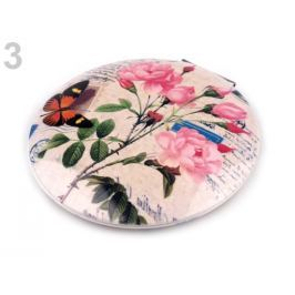 Kozmetické zrkadielko ružová sv. 1ks Stoklasa