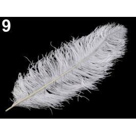 Pštrosie perie 60 cm biela 3ks Stoklasa