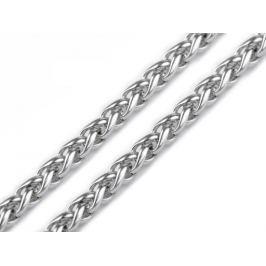 Hadia retiazka 0,3x50 cm z nerezovej ocele platina 3ks Stoklasa