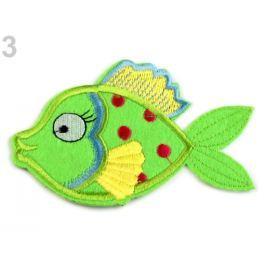 Nažehlovačka ryba zelená sv. 180ks Stoklasa