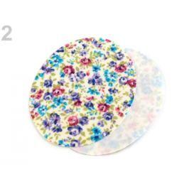 Nažehlovacie záplaty 5,7x7 cm fialová levandula 10sáčok Stoklasa