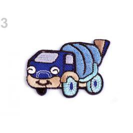 Nažehlovačka modrá safírová 10ks