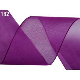 Monofilová stuha zväzky po 5 m šírka 40 mm slivková 5m Stoklasa