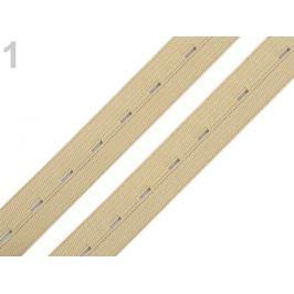 Guma dierková šírka 20 mm béžová 30m Stoklasa