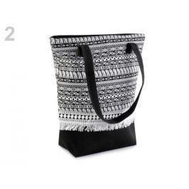 Textilná taška Boho 34x38 cm čierna 1ks Stoklasa