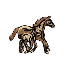Nažehlovačka kone hnedá 1ks Stoklasa