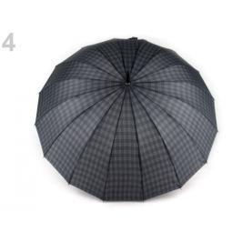 Pánský vystreľovací dáždnik šedomodrá tm. 6ks Stoklasa