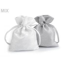 Darčekové vrecúško s lurexom 10x13 cm mix farieb 10ks Stoklasa
