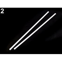Výstuž do korzetu kovová šírka 8 mm viac dĺžok biela 10ks Stoklasa