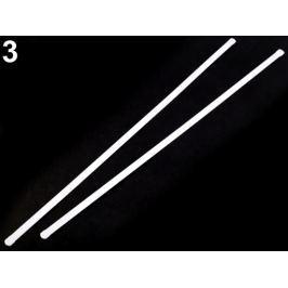 Výstuž do korzetu kovová šírka 8 mm viac dĺžok biela 100ks Stoklasa