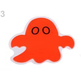 Reflexná samolepka strašidielko oranžová refexná 4ks Stoklasa