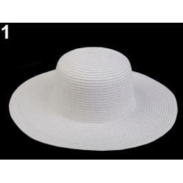 Dámsky klobúk k ozdobeniu biela 1ks Stoklasa