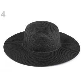 Dámsky klobúk k ozdobeniu čierna 1ks Stoklasa
