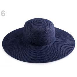 Dámsky klobúk k ozdobeniu modrá parížska 3ks Stoklasa