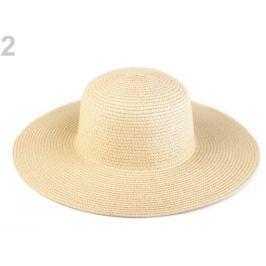 Dámsky klobúk k ozdobeniu krémová najsvetl 8ks Stoklasa